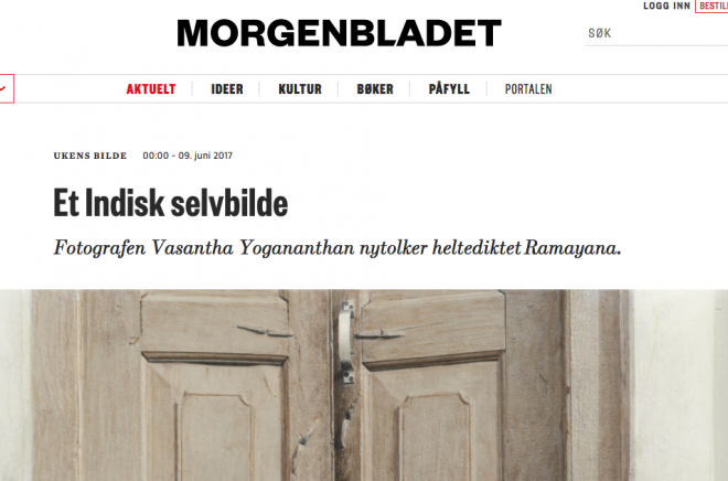 Morgenbladet-The-Promise-Vasantha-Yogananthan